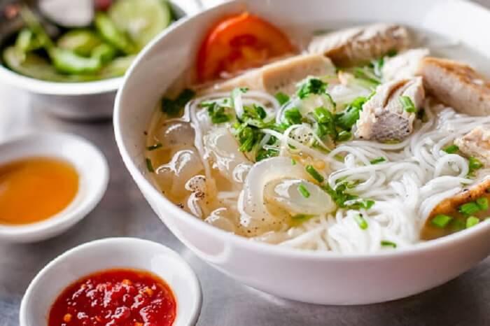 Bún sứa Phú Yên lạ miệng