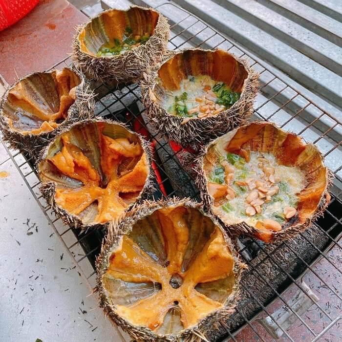 Nhum biển nướng