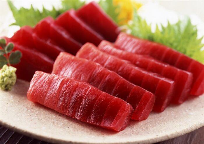 Cá ngừ tươi giàu chất dinh dưỡng
