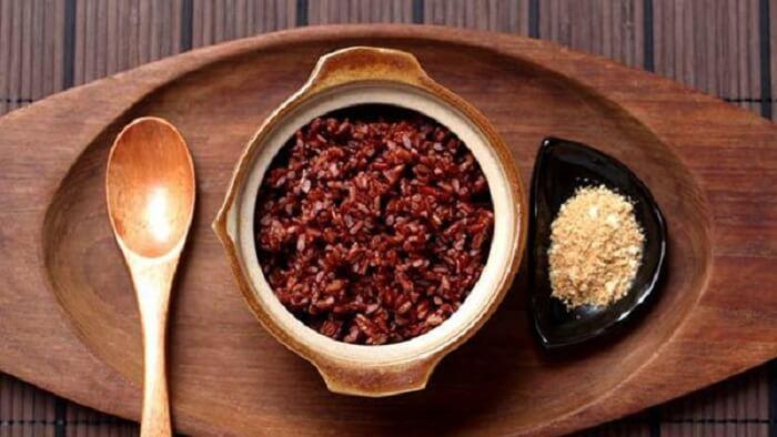 Cơm gạo đỏ