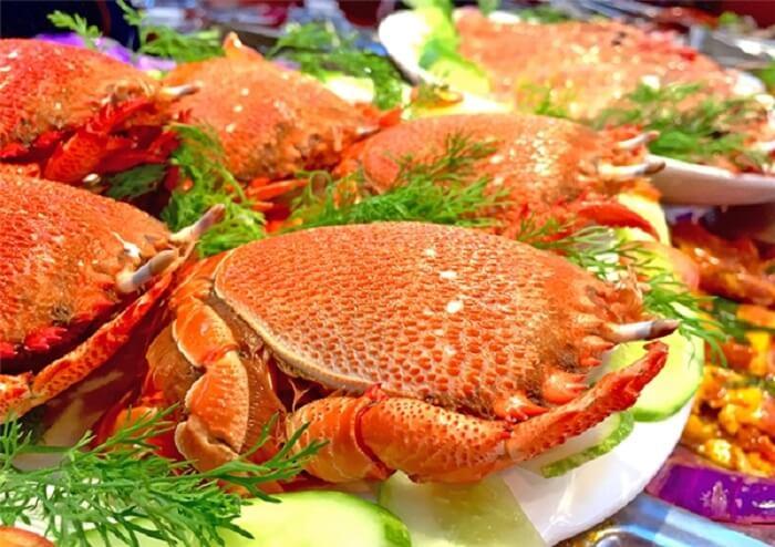 Món cua Huỳnh đế đặc sản Phú Yên