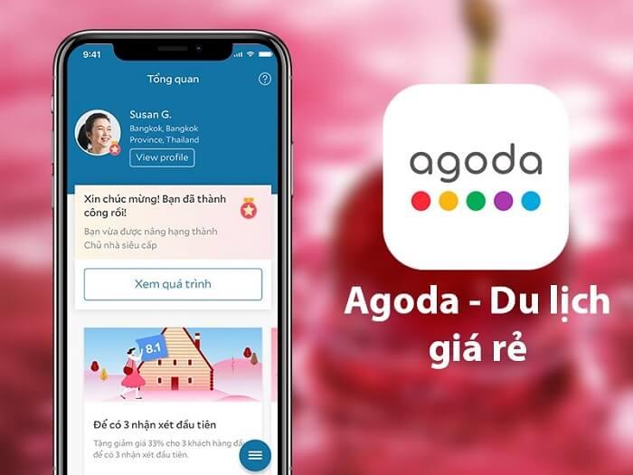 cách đặt phòng trên Agoda bằng ứng dụng trên điện thoại di động